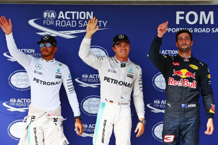 F1   予選Q3速報:アロンソ痛恨のスピンで、ロズベルグが最後に逆転したが……