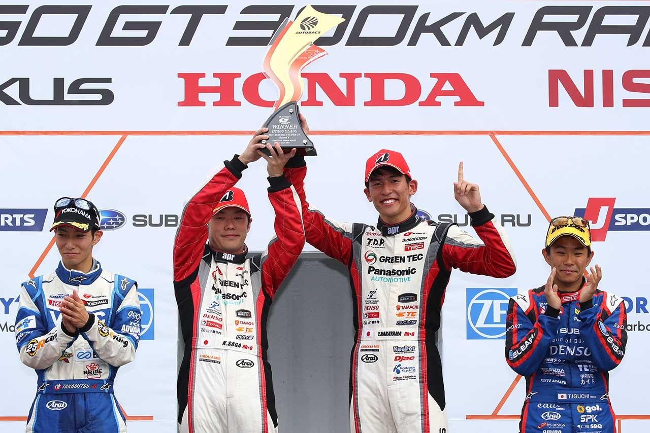 GT300:三つ巴の優勝争いはJAF-GTが制す。新型プリウス初優勝