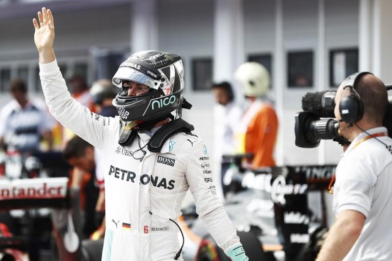 F1 | ロズベルグ「規則は当然わかってる。正当に勝ち取ったポールポジション」:メルセデス ハンガリー土曜