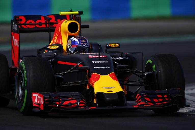F1 | フェルスタッペン「予選でもロズベルグとほぼ同じタイムを出せた計算になる」:レッドブル ハンガリー土曜