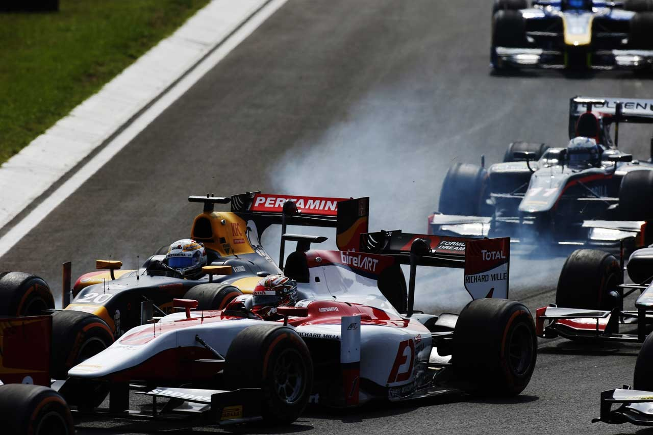 GP2第6戦ハンガリー決勝レース2