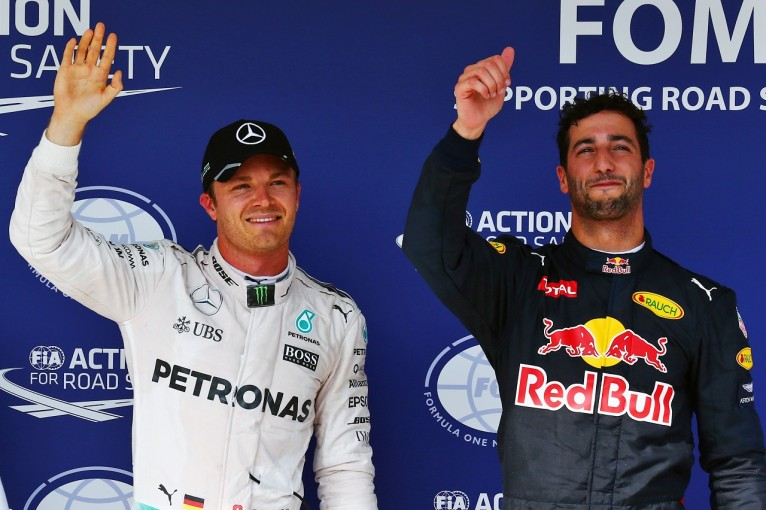 F1   リカルド「アロンソのスピンを見て怒り狂った。貴重なPPのチャンスだったのに」:レッドブル ハンガリー土曜