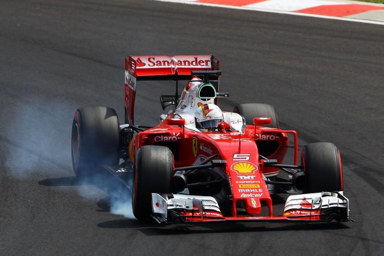 F1 | ベッテル「バトンは寝てたのか? ブロックされなければ余裕で3位だった」:フェラーリ ハンガリー土曜