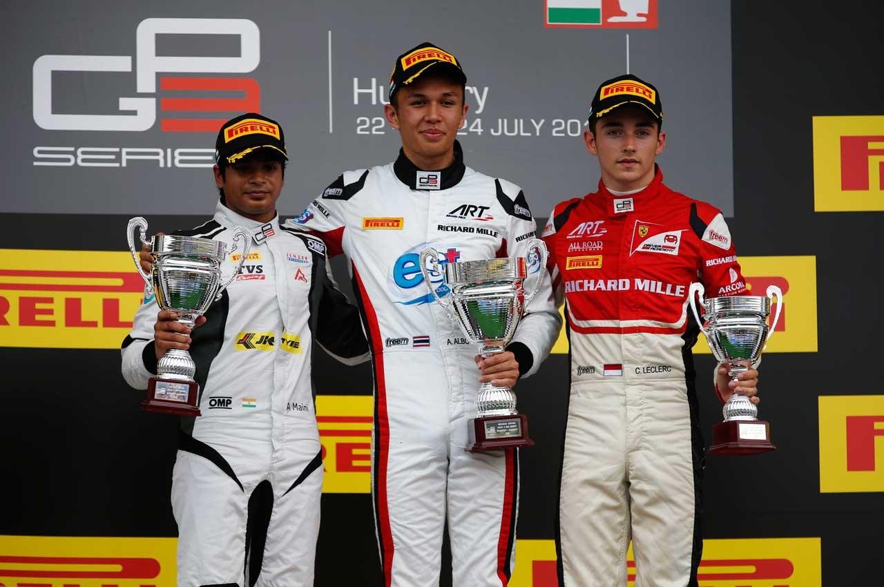 【順位結果】GP3第4戦ハンガリー決勝レース2
