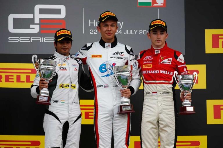 海外レース他   【順位結果】GP3第4戦ハンガリー決勝レース2