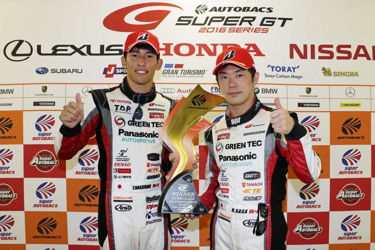 GT300優勝の中山「流れを作るレースで優勝できたことは予想以上の結果」
