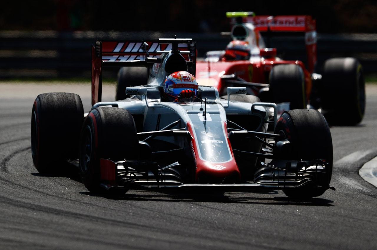 2016年F1第11戦ハンガリーGP ロマン・グロージャン(ハース)
