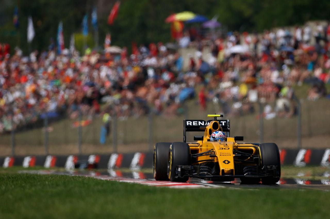 2016年F1第11戦ハンガリーGP ジョリオン・パーマー(ルノー)