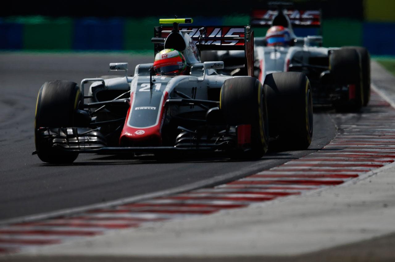 2016年F1第11戦ハンガリーGP エステバン・グティエレス(ハース)
