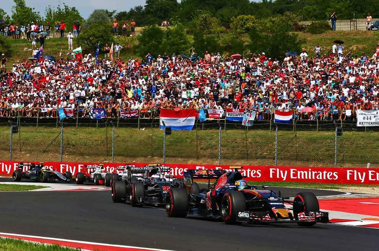2016年F1第11戦ハンガリーGP カルロス・サインツjr.