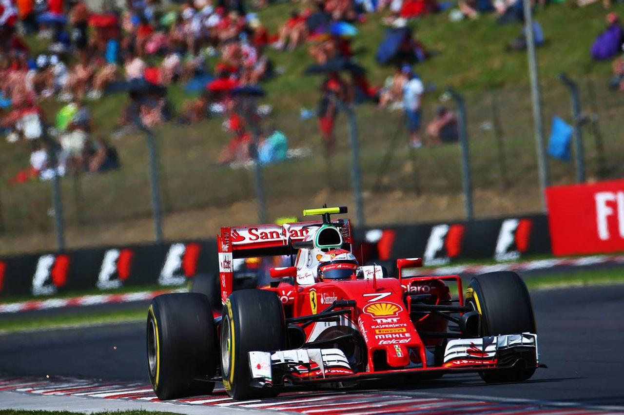 2016年F1第11戦ハンガリーGP キミ・ライコネン(フェラーリ)