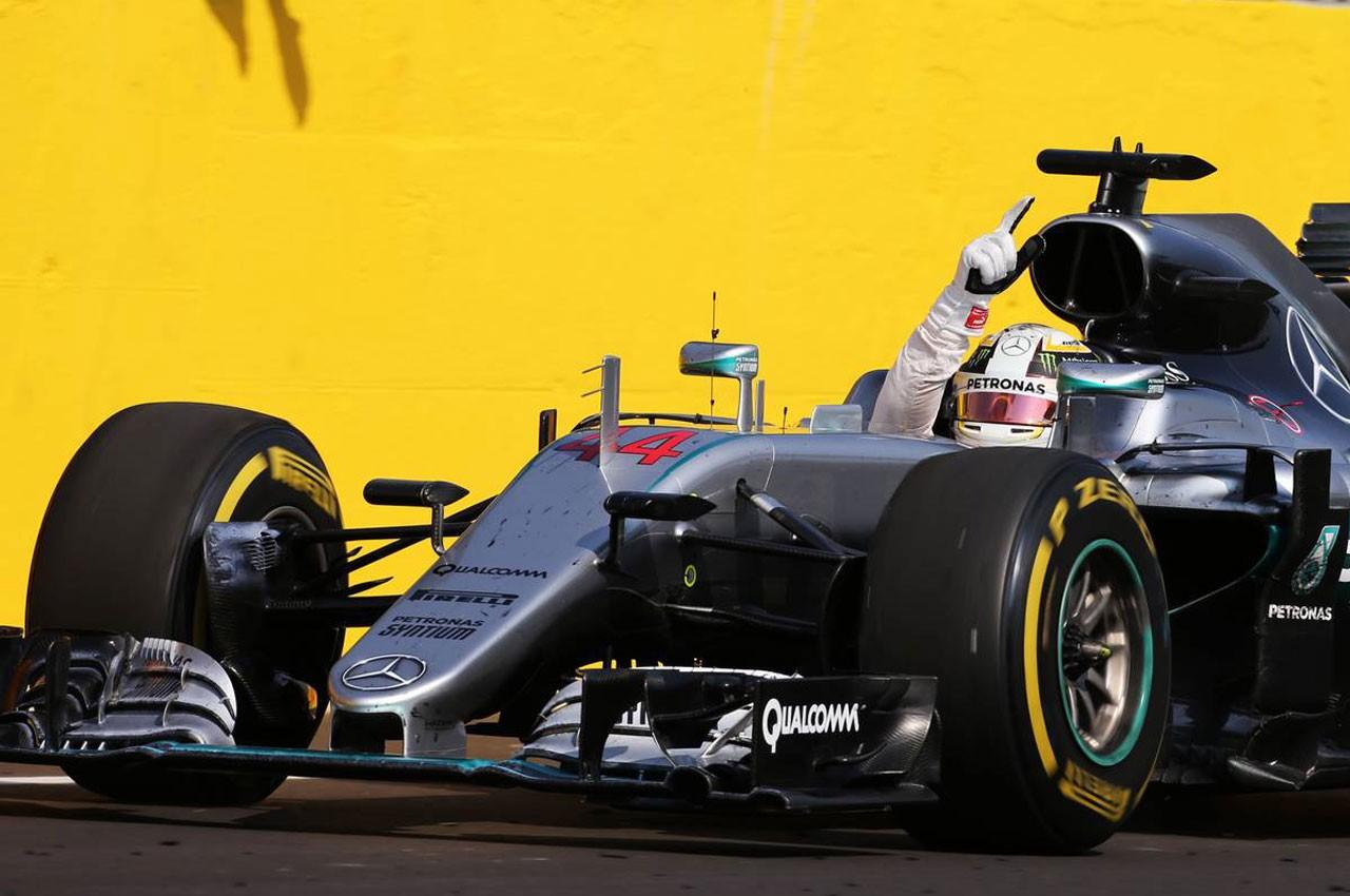 2016年F1第11戦ハンガリーGP ルイス・ハミルトン(メルセデス)