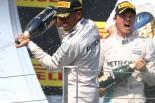 F1 | ハミルトンがタイトル争いでもチームメイトを逆転! アロンソ安定の7位入賞