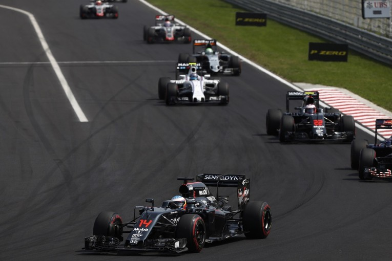 F1 | アロンソ「全セッション7位! 僕らは第2集団のリーダーだ」:マクラーレン・ホンダ ハンガリー日曜