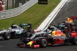 F1 | リカルド「勝てると思ってアグレッシブにいったが、甘かった!」:レッドブル ハンガリー日曜
