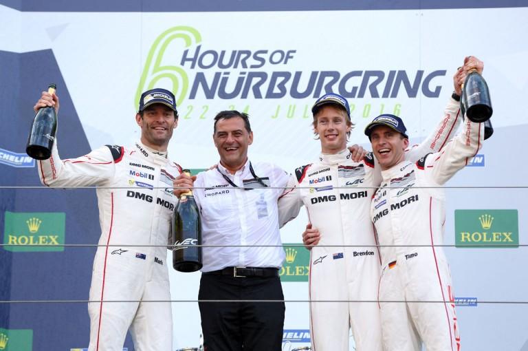 ル・マン/WEC | WEC第4戦ニュル決勝はポルシェ1号車が今季初V。 トヨタ勢は不本意な結果に