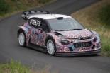 ラリー/WRC | シトロエン、17年型WRカーで初のターマックテスト「大幅な進化が体感できた」