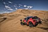 ラリー/WRC | ローブ&プジョー初優勝の夢はペナルティで消えるも「レイドでの成長に手応え」