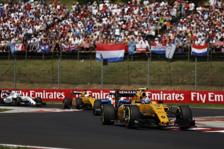 F1 | パーマー「初入賞を逃しショック。たった一度のスピンですべてが台無しに」:ルノー ハンガリー日曜
