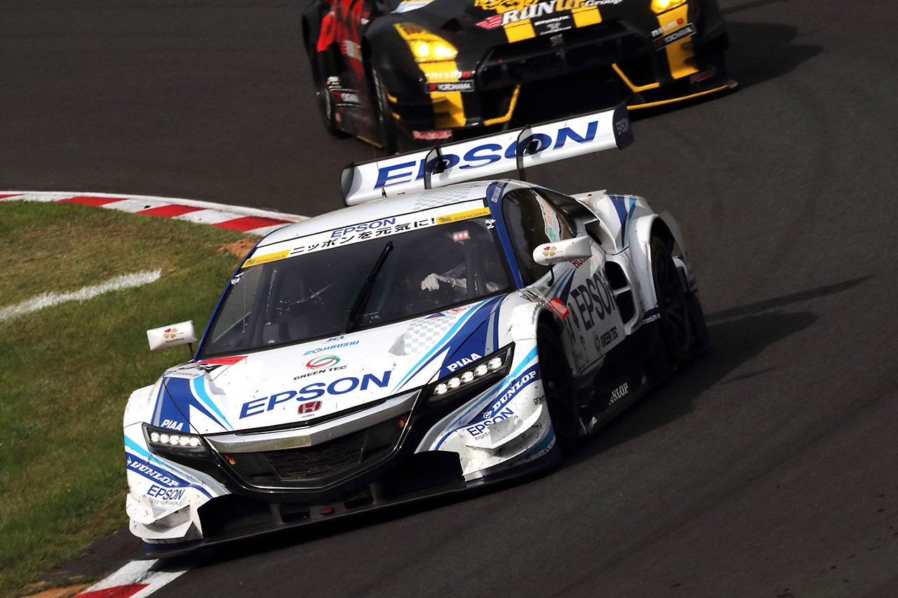 Honda スーパーGT第4戦SUGO 決勝レースレポート