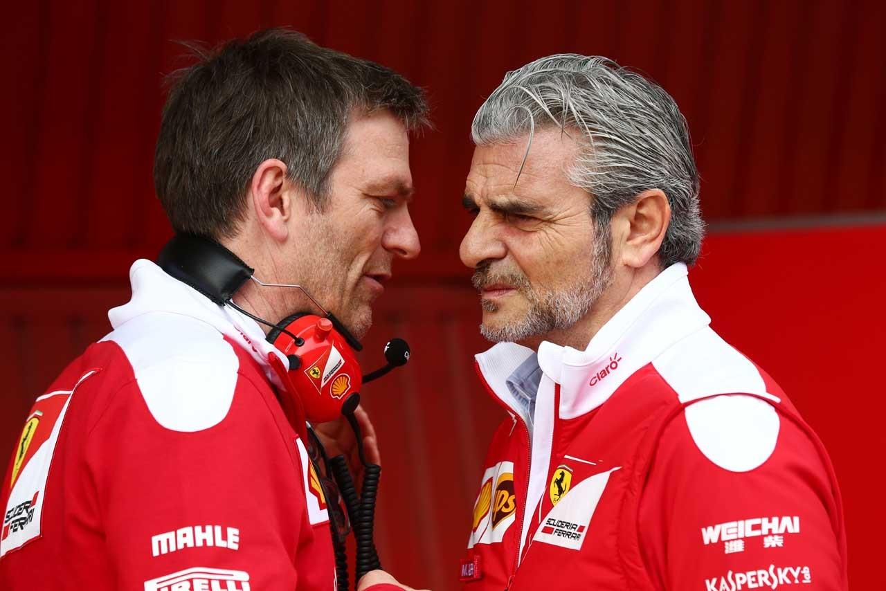 フェラーリを離脱したジェームス・アリソン(左)