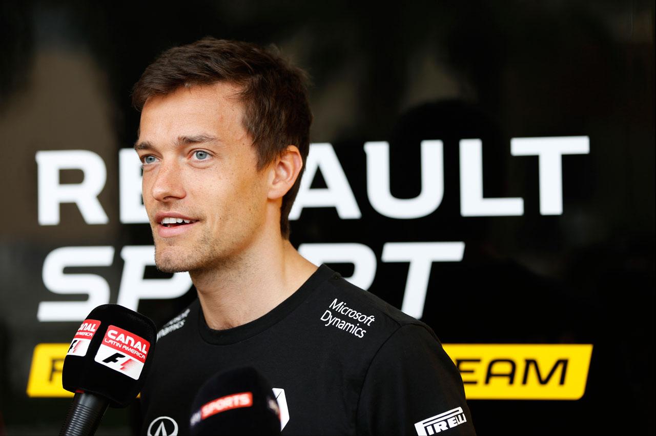 F1   ジョリオン・パーマー 2016年