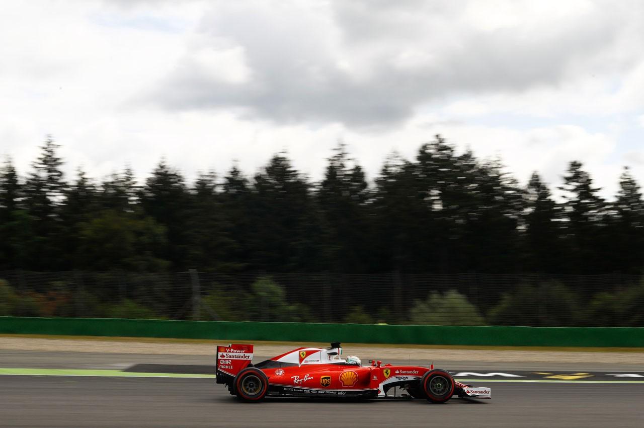 【タイム結果】F1第12戦ドイツGP フリー走行1回目