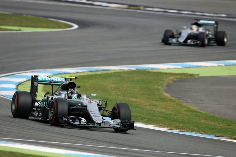 F1 | ロズベルグ、母国でトップ発進。アロンソはホッケンハイムでも7位に