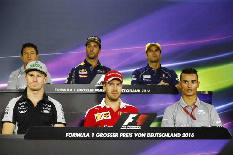 F1   会見ピックアップ:ドイツなのにロズベルグが呼ばれないのは「あの件」が原因!?
