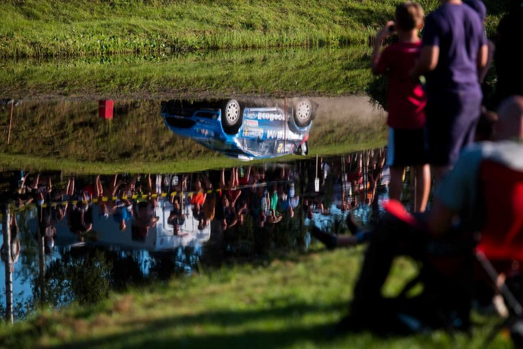 ラリー/WRC   【順位結果】WRC第8戦フィンランド SS12後 暫定結果