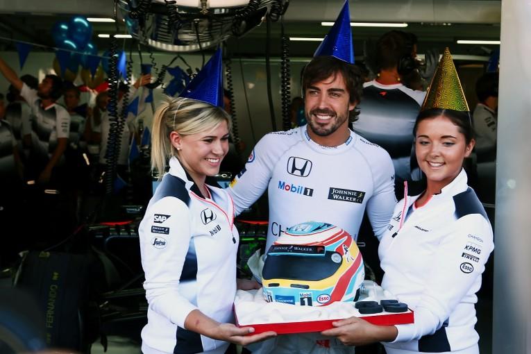 "F1 | アロンソ「接戦の""4番手""争いを制したいが、道は険しい」:マクラーレン・ホンダ ドイツ金曜"
