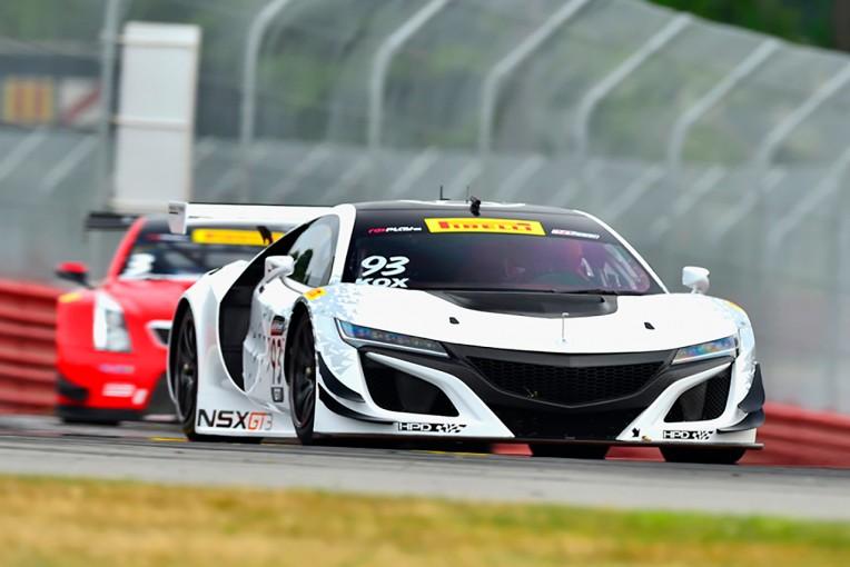 ル・マン/WEC | アキュラNSX GT3がPWCミドオハイオでテストデビューを飾る