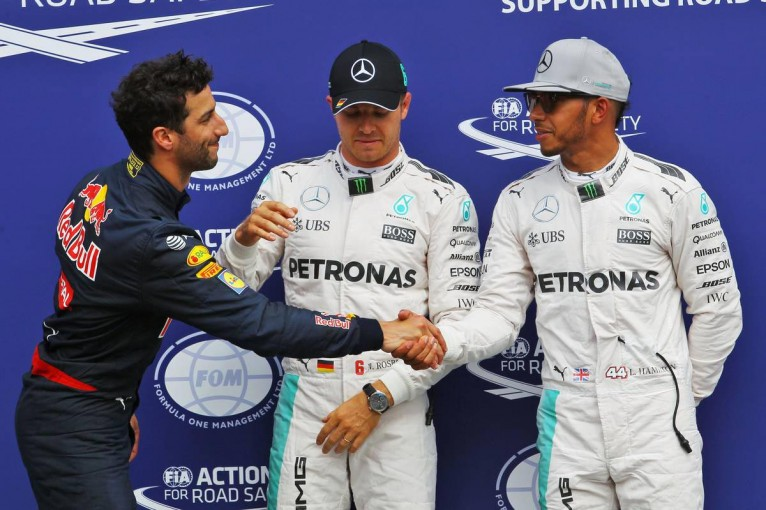 F1 | リカルド「3戦連続で2列目独占。明日は一回はトップに立つつもり!」:レッドブル ドイツ土曜