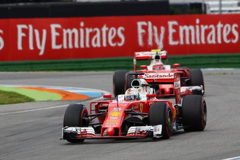 F1 | ベッテル「予選になって再び低迷。クルマから速さを引き出せない」:フェラーリ ドイツ土曜
