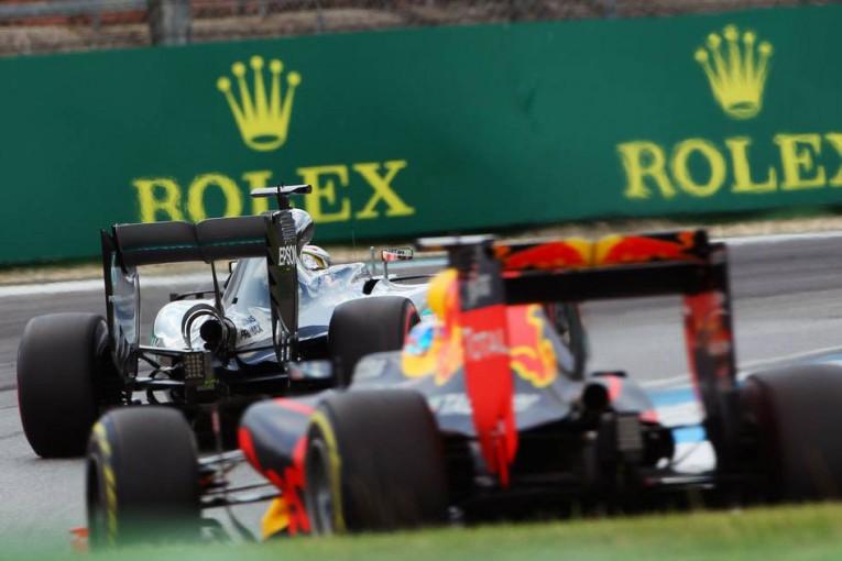 F1   ドイツGP決勝直前情報:降格を免れたハミルトン、レッドブルどこまで迫れるか