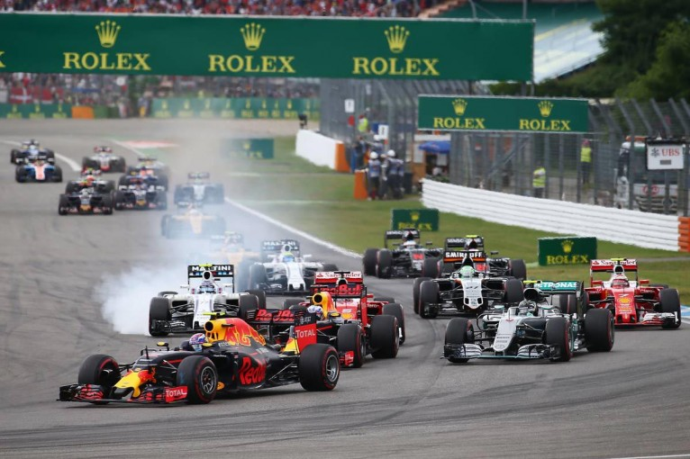 F1 | 【順位結果】F1第12戦ドイツGP決勝