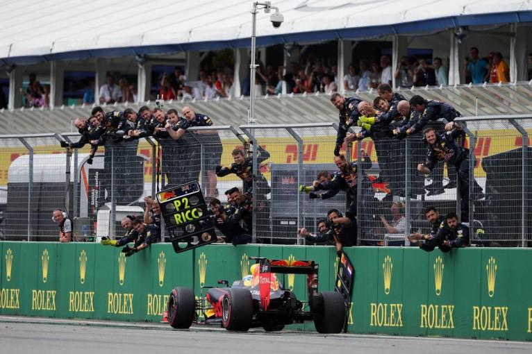 F1 | 【ポイントランキング】F1第12戦ドイツGP終了時点
