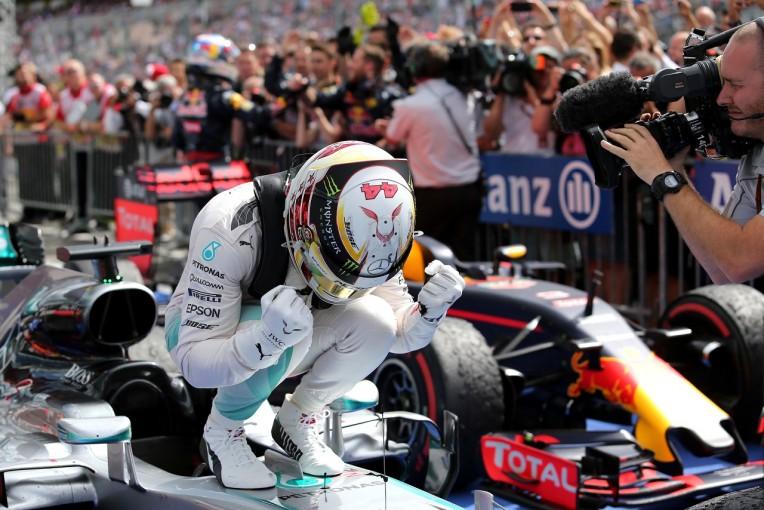 F1 | ハミルトン「スタートの改善に懸命に取り組んできた。その努力が報われたんだ」:メルセデス ドイツ日曜