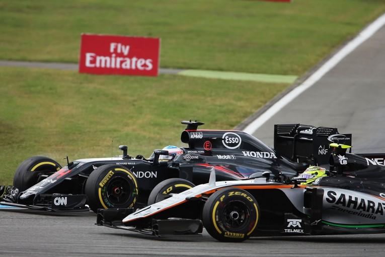 F1 | アロンソ「ベルギーのアップデートが待ち遠しい。燃費とタイヤに苦しみ入賞逃がす」:マクラーレン・ホンダ ドイツ日曜