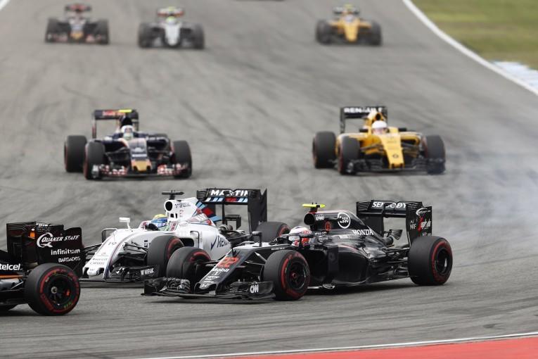 F1 | バトン「ウイリアムズに勝てたのはうれしいが、トップグループとの差はまだまだ大きい」:マクラーレン・ホンダ ドイツ日曜