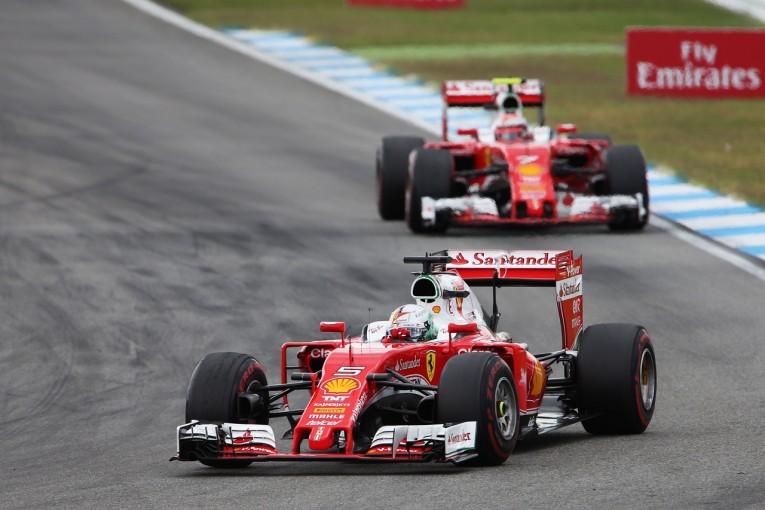 F1 | ベッテル「チームの戦略に従わなかったのは僕の誤り」:フェラーリ ドイツ日曜