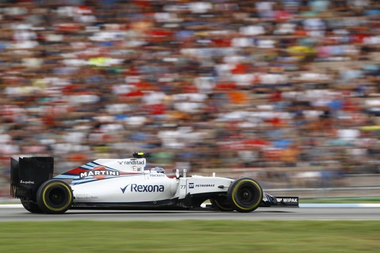 F1 | ボッタス「この戦略は絶対無理、と思った」:ウイリアムズ ドイツ日曜