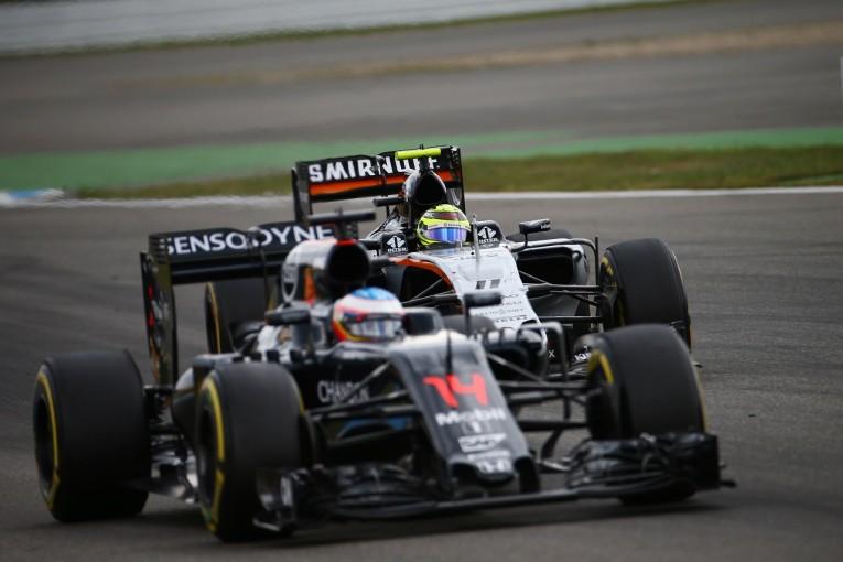 F1 | ペレス「アロンソを抜いてポイントつかんだ。キャリア最悪のスタートから信じられないような挽回」:Fインディア ドイツ日曜