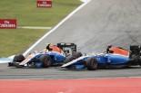 F1 | ハリアント「ウェーレインを抜こうとして接触した」:マノー ドイツ日曜