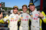 優勝を飾ったローヴェ・レーシングのアレキサンダー・シムス/フィリップ・エング/マキシム・マルタン組