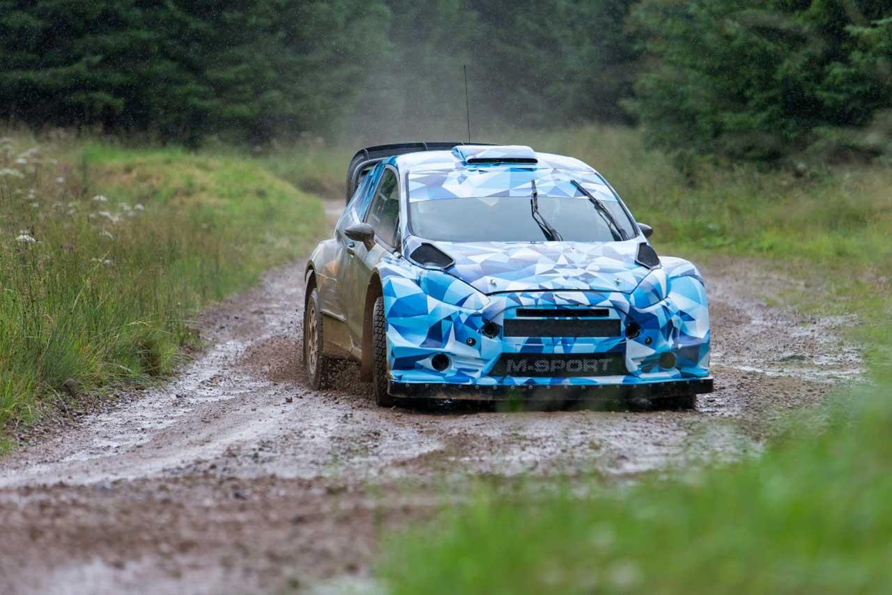 WRC参戦のMスポーツ、暫定仕様の17年型WRカーテスト開始