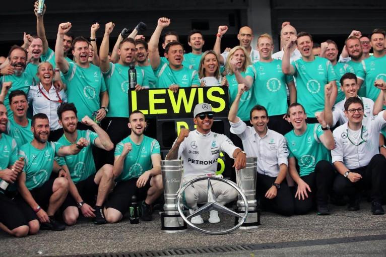F1   今季もトップ独走のメルセデス「フェラーリと接戦のバトルがしたい!」