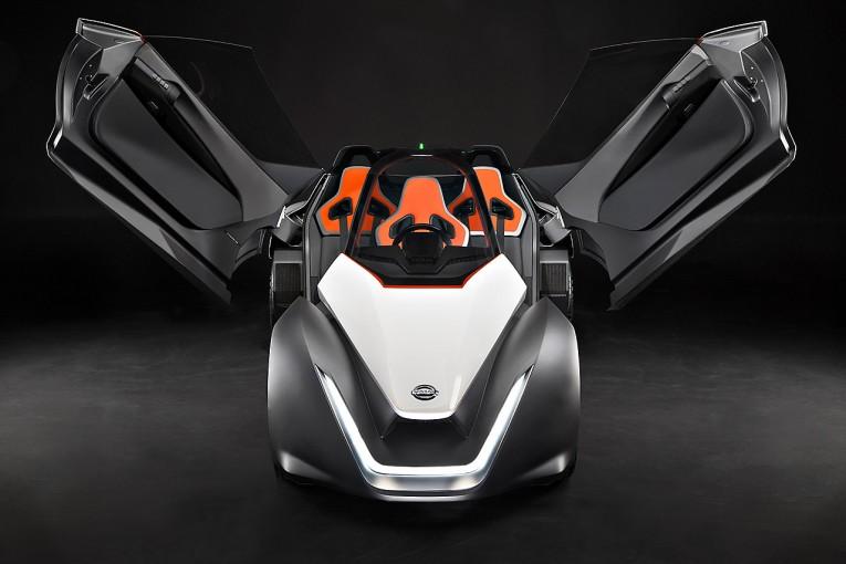 クルマ | ニッサン、『ブレードグライダー』のプロトタイプをリオで初公開