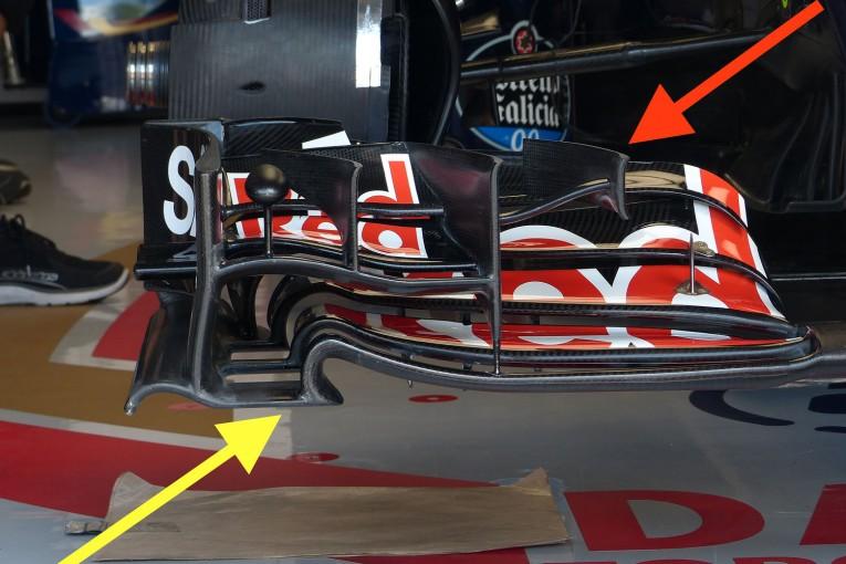 F1 | メカUPDATE:トロロッソはフロントウイングなど細部の空力を見直し