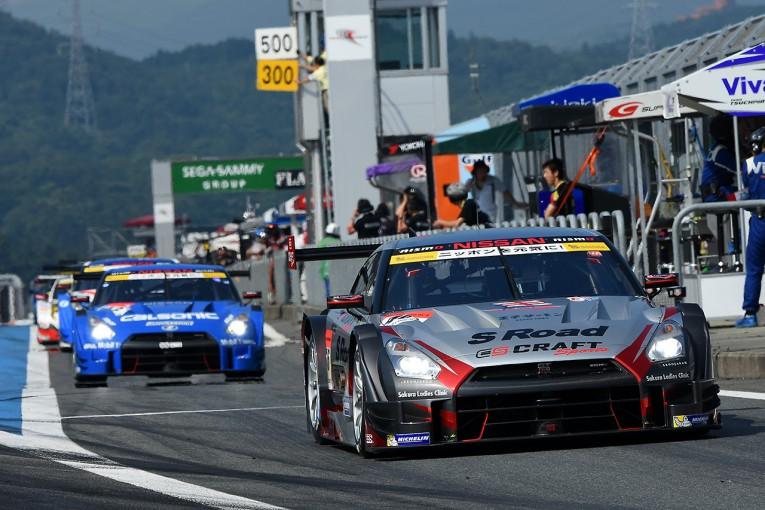 スーパーGT | GT500:公式練習はS Road GT-Rが最速。ドラゴNSXも速さをみせる